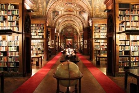 Библиотека University Club в Нью-Йорке