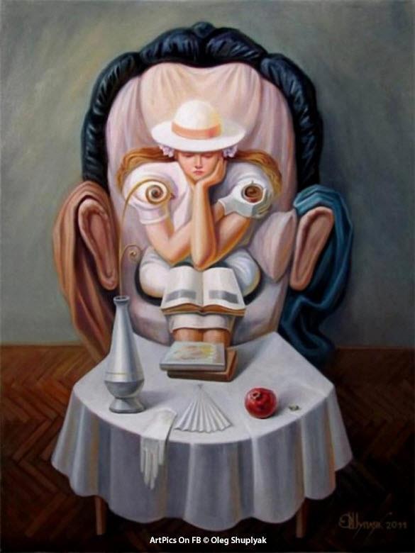 Олег Щупляк: книжный арт