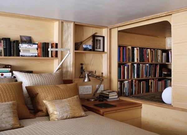 библиотека примыкает к спальной зоне