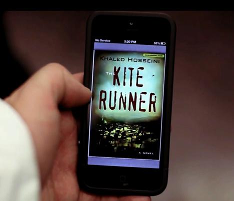 и книга в смартфоне!