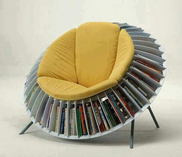 кресло-подсолнух для чтения