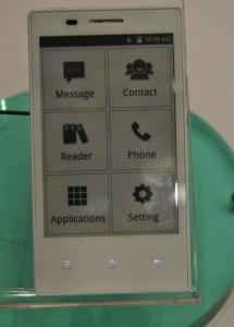смартфон Fndroid на e-ink