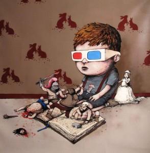 чтение в 3D?