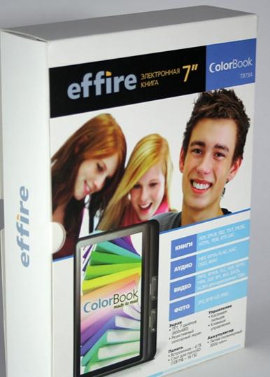 Effire ColorBook TR73A