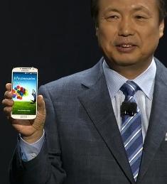 Samsung представляет Galaxy S4