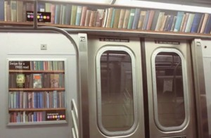 Underground Library - библиотека в нью-йоркском метро