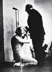 Марлен Дитрих и Константин Паустовский в 1963 г.