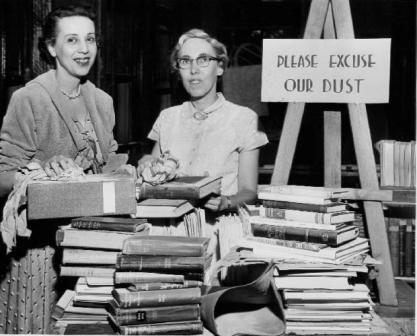 Публичная библиотека Ниагарского водопада в 1955 г.