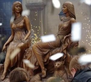 """композиция """"Серебряный век"""" в Литературном музее Одессы - открытие"""