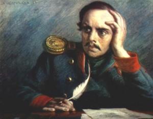 портрет М.Ю.Лермонтова