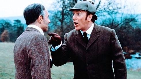 """""""Без единой улики"""" - пародийная картина о приключениях Холмса и Уотсона, 1988 г."""