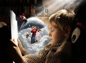 """""""Охотно читающий ребенок - это почти как белый лев или дельфин..."""""""