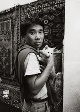 Харуки Мураками с котиком