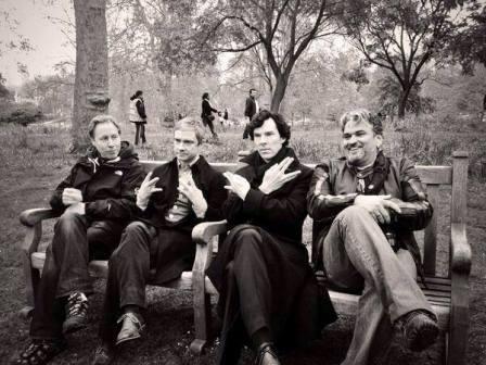 """Шерлок BBC"" - съемки 3 сезона"