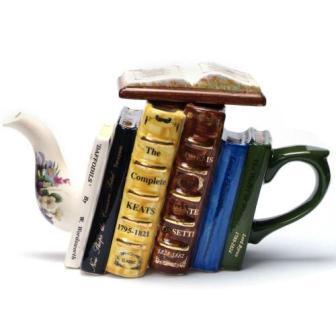 английское чаепитие для книголюба