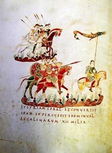 средневековая книжная миниатюра
