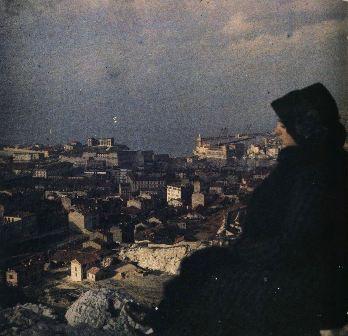 1910 г. - жена Леонида Андреева в Марселе. Фото Леонида Андреева