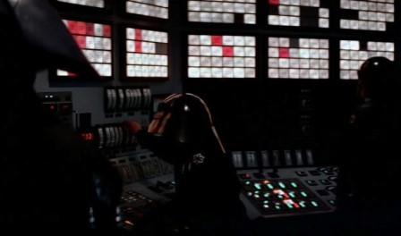 панель управления Звездой Смерти