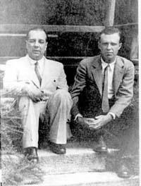 Адольфо Бьой Касарес и Хорхе Луис Борхес