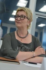 Татьяна Устинова на заседании круглого стола
