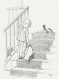 """Эрнест Шепард - одна из классических иллюстраций к """"Винни-Пуху"""""""