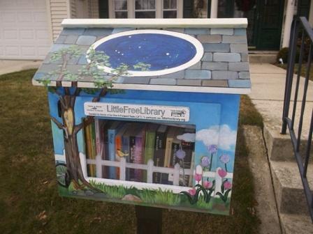 библиотечный домик Little Free Library