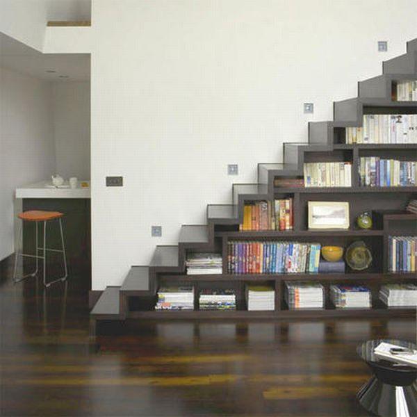 еще одна книжная лестница