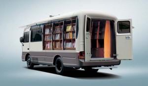 передвижная библиотека
