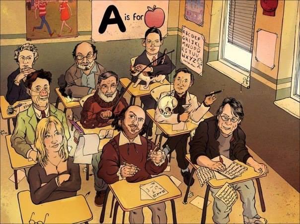 писатели из одного - высшего! - класса