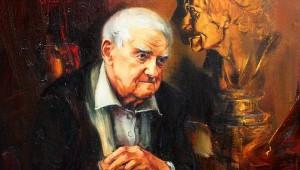 портрет Даниила Гранина работы Анатолия Черных