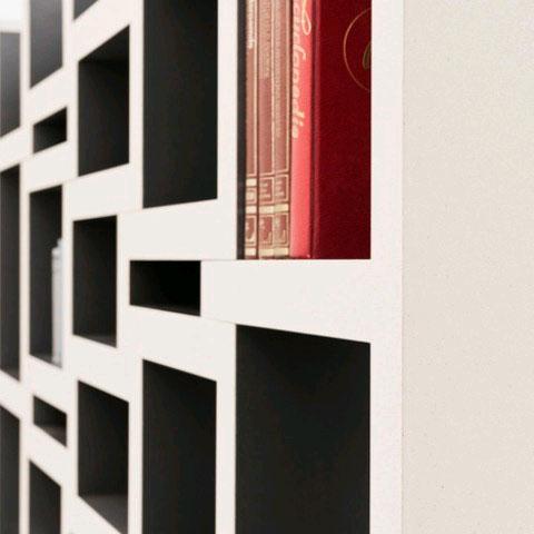 REK - растущий книжный шкаф Де Йонга