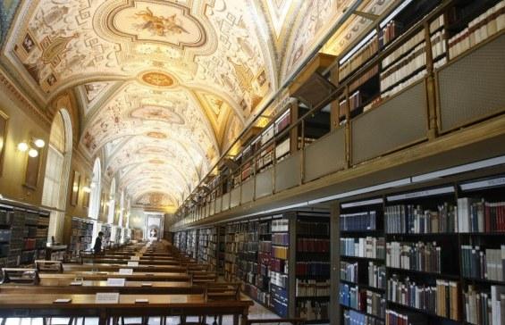 читальный зал ватиканской библиотеки