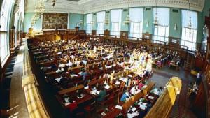 читальный зал крупнейшей московской библиотеки