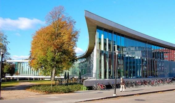 Библиотека шведского Хальмстада