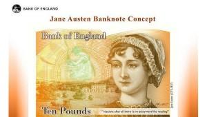 Джейн Остин на десятифунтовой банкноте - фото ria.ru