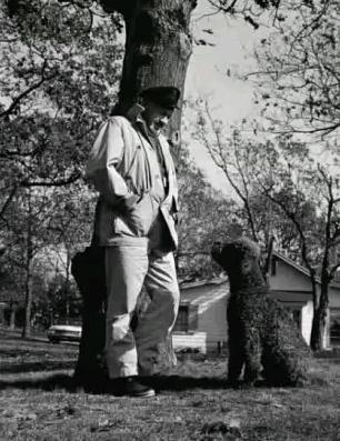 Джон Стейнбек и его пес Чарли