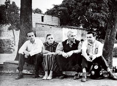Константин Симонов в Ташкенте