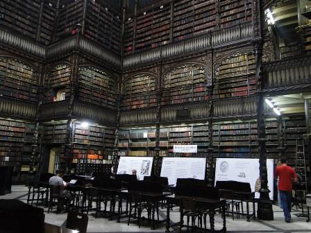 Королевская библиотека в Рио-де-Жанейро