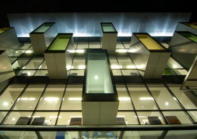 """Общественная библиотека """"Бишан"""" в Сингапуре"""