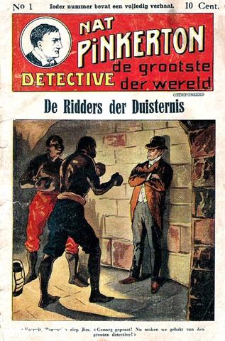 американское издание детективов о Нате Пинкертоне