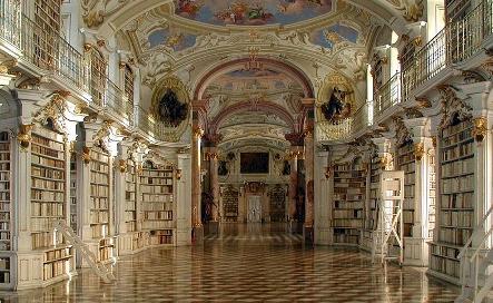 библиотека монастыря Адмонт