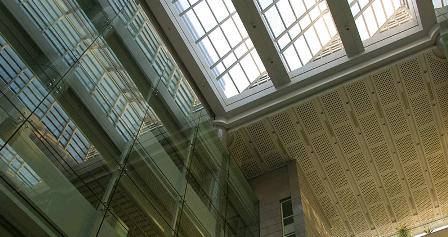библиотечные залы