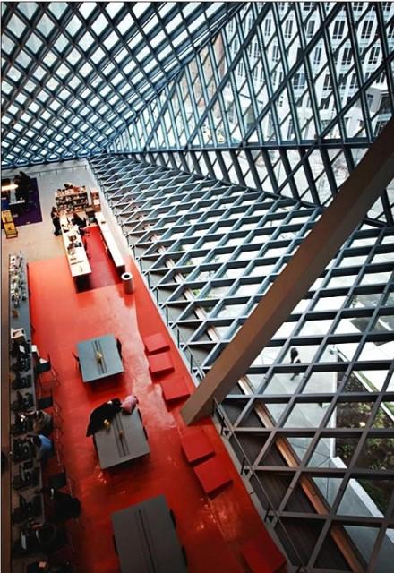 библиотечный зал, Сиэттл