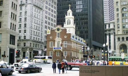 в Бостоне