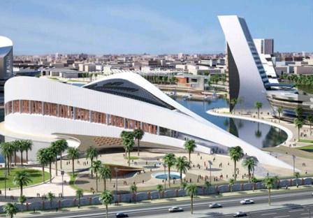 проект будущей библиотеки Багдада