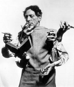 сюрреалист Жан Кокто