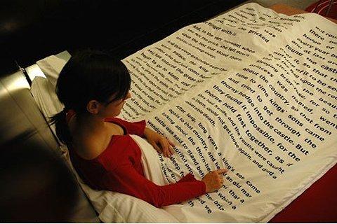 читательское одеяло
