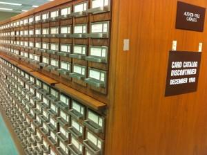 каталоги Библиотеки Конгресса США