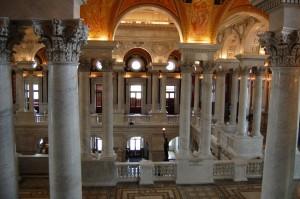 читальный зал Библиотеки Конгресса