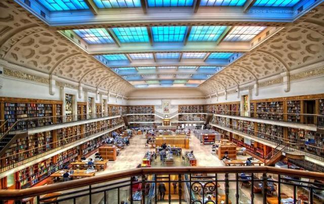 Австралия, Сидней. Библиотека Митчелла